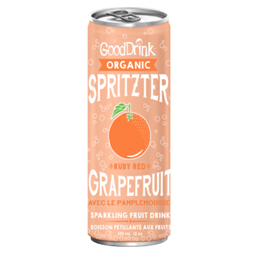 GoodDrink - Spritzter, Ruby Red Grapefruit, Organic