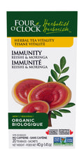 Four O'Clock - Immunity Reishi & Moringa Herbal Tea