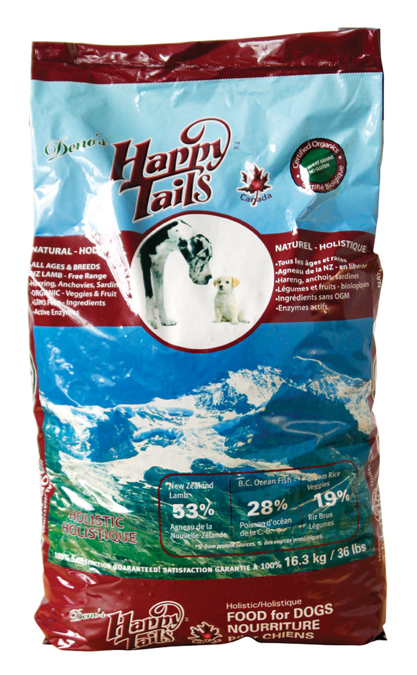 Happy Tails - Dry Food, Lamb - Large