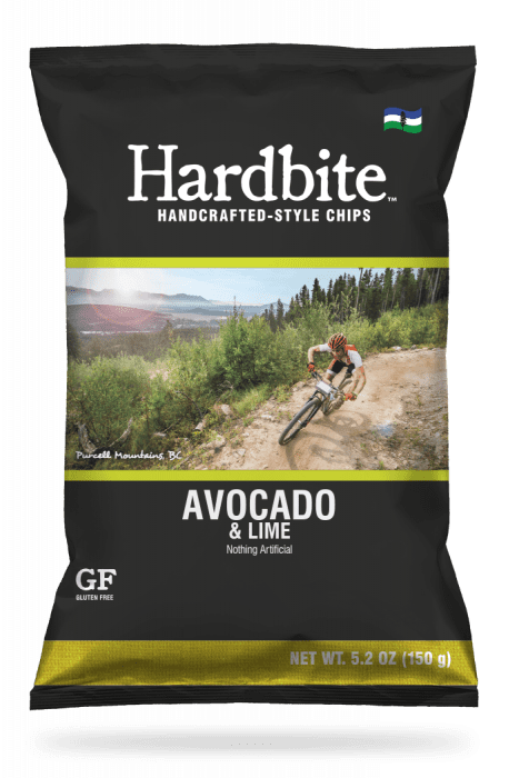 Hardbite - Potato Chips, Avocado & Lime