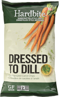 Hardbite - Carrot Chips, Dressed to Dill
