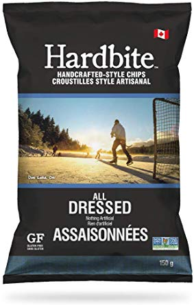 Hardbite - Potato Chips, All Dressed