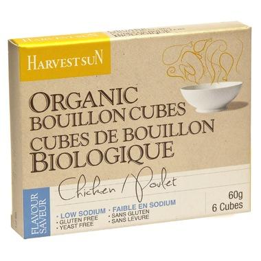 Harvest Sun - Bouillon Cubes, Chicken, Low Sodium, Organic