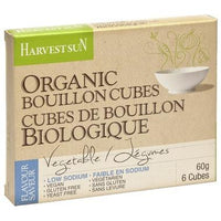 Harvest Sun - Bouillon Cubes, Vegetable, Low Sodium, Organic