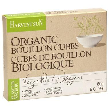 Harvest Sun - Bouillon Cubes, Vegetable, Organic