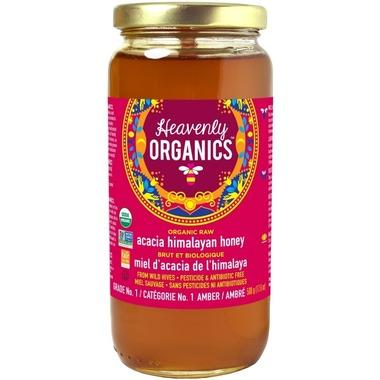 Heavenly Organics - Honey, Raw, Acacia, Organic