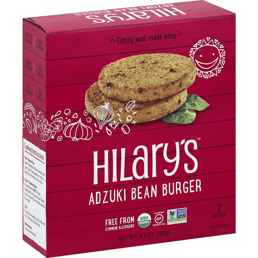 Hilary's - Burger, Adzuki Bean, Organic