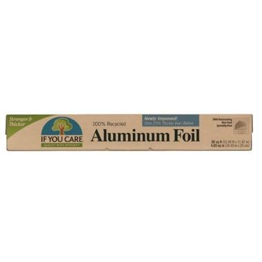 "If You Care - Aluminum Foil, Recycled (50 square feet=50'x12"")"