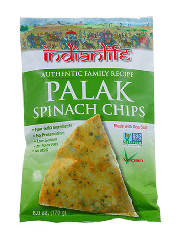 IndianLife - Palak Spinach Chips