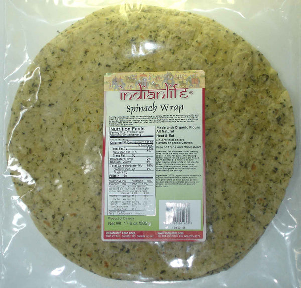 IndianLife - Wrap, Spinach