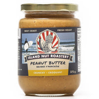 Island Nut Roastery - Peanut Butter, Dry Roasted, Crunchy