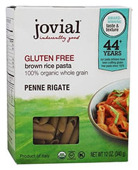 Jovial - Penne Rigate, Brown Rice, Organic