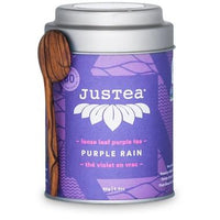 JusTea - Purple Tea, Purple Rain, Loose Leaf