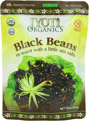Jyoti Natural Foods - Black Beans, Organic