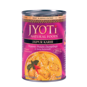 Jyoti Natural Foods - Jaipur Karhi (Organic Potato Dumplings in Spicy Buttermilk)