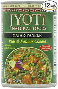 Jyoti Natural Foods - Matar Paneer (Peas & Home Style Cheese)