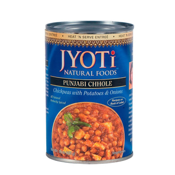 Jyoti Natural Foods - Punjabi Chhole (Chickpeas w/Potatoes & Onions)