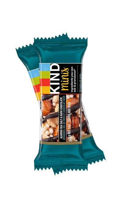 Kind - Minis, Almond Sea Salt & Dark Chocolate