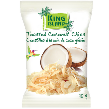 King Island - Toasted Coconut Chips
