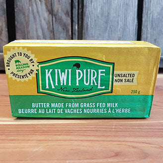 Kiwi Pure - Butter, Grass Fed Dairy, Unsalted (frozen)