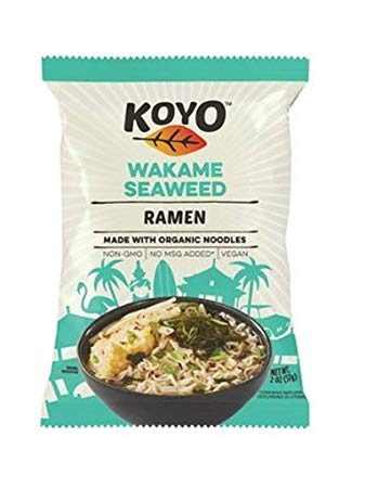 Koyo Ramen - Ramen Soup, Seaweed (vegan/no MSG) (89% organic ingredients)