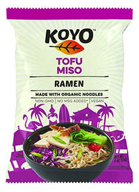Koyo Ramen - Ramen Soup, Tofu & Miso (vegan/no MSG) (89% organic ingredients)