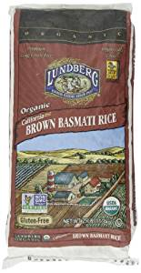Lundberg - Rice - Brown Basmati, 25 lb