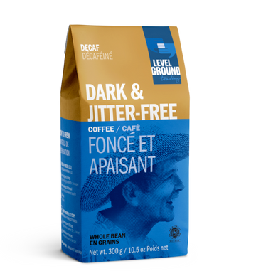 Level Ground - Decaf, Dark & Jitter Free, Whole Bean