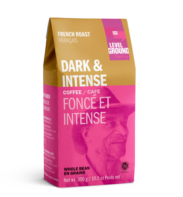 Level Ground - French Roast, Dark & Intense, Whole Bean