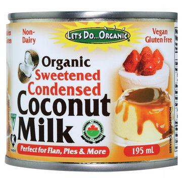 Let's Do...Organic - Condensed Coconut Milk, Sweetened, Organic