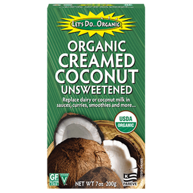 Let's Do...Organic - Creamed Coconut, Unsweetened, Organic