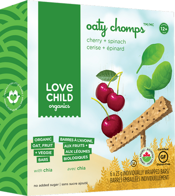 Love Child Organics - Oaty Chomps, Raspberry & Beet, Organic