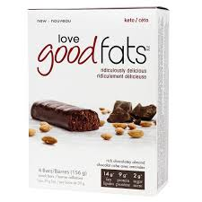 Love Good Fats - 4-Pack, Rich Chocolatey Almond