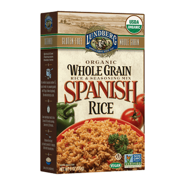 Lundberg - WG Rice & Seasoning Mix, Spanish Rice, Organic
