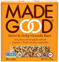 Made Good - Granola Bars, 5-Packs, Sweet & Salty