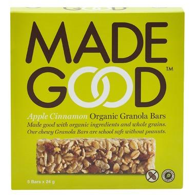 Made Good - Granola Bars, Minis, 4-Packs, Apple Cinnamon, Organic