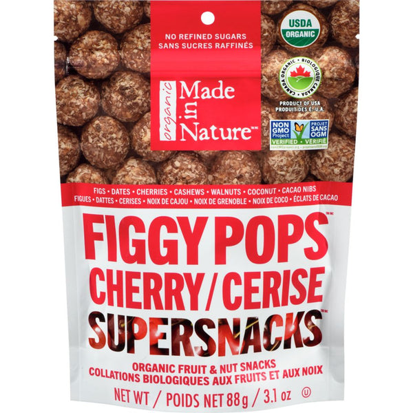 Made In Nature - Figgy Pops, Cherry, Organic