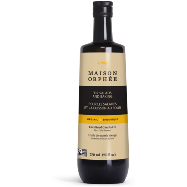 Maison Orphee - Canola Oil, Virgin, Organic, Large