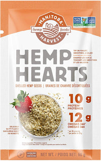 Manitoba Harvest - Hemp Hearts (Raw Shelled Hemp Seeds), Single Serve
