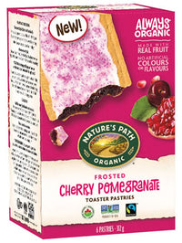 Nature's Path - Toaster Pastries - Frosted Cherry Pomegranate