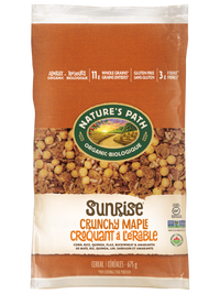 Nature's Path - Cereal - EcoPac, Sunrise, Crunchy Maple