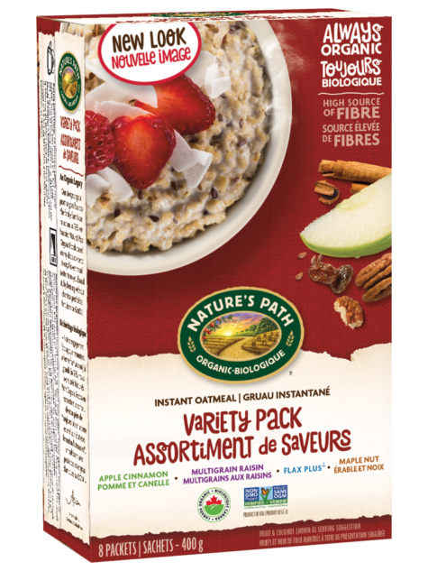 Nature's Path - Instant Oatmeal - Variety Pack