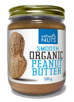 Nature's Nuts - Peanut Butter, Smooth, Organic