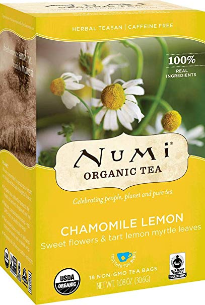 Numi Tea - Herbal Teasan, Chamomile Lemon