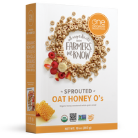 One Degree - Cereal - Sprouted Oat Honey O's