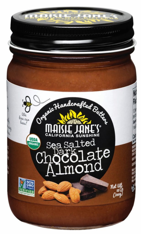 Maisie Jane's - Almond Butter, Sea Salted Dark Chocolate, Organic
