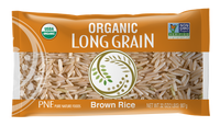 Pure Nature Foods - Premium Brown Rice, Long Grain, Organic