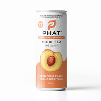 Phat Tea - Heirloom Peach w/Electrolytes & MCT Oil