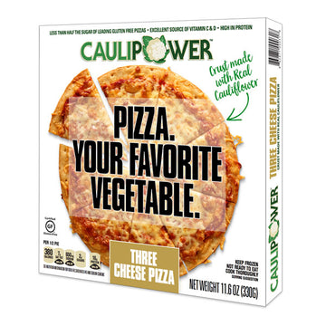 Caulipower - Three Cheese, Cauliflower Pizza Crust