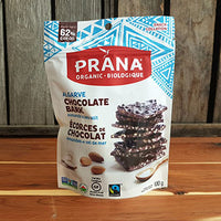 Prana - Chocolate Bark - 62 Dark with Almonds & Sea Salt